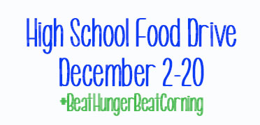 Horseheads High School Food Drive Information, click here