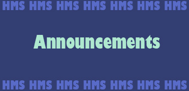 Middle School September Announcements, click here