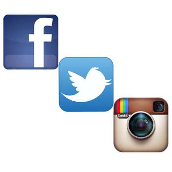 Follow us on Facebook, Twitter, Instagram